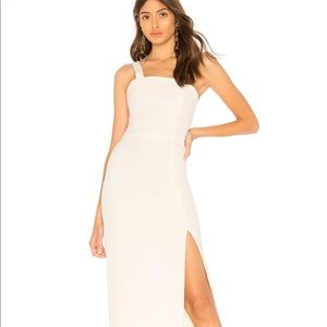 By the way. white dress